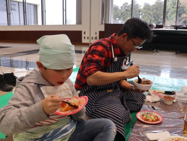 父と子の料理教室